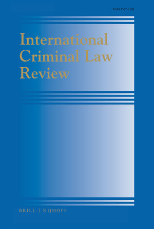 International Criminal Law Review