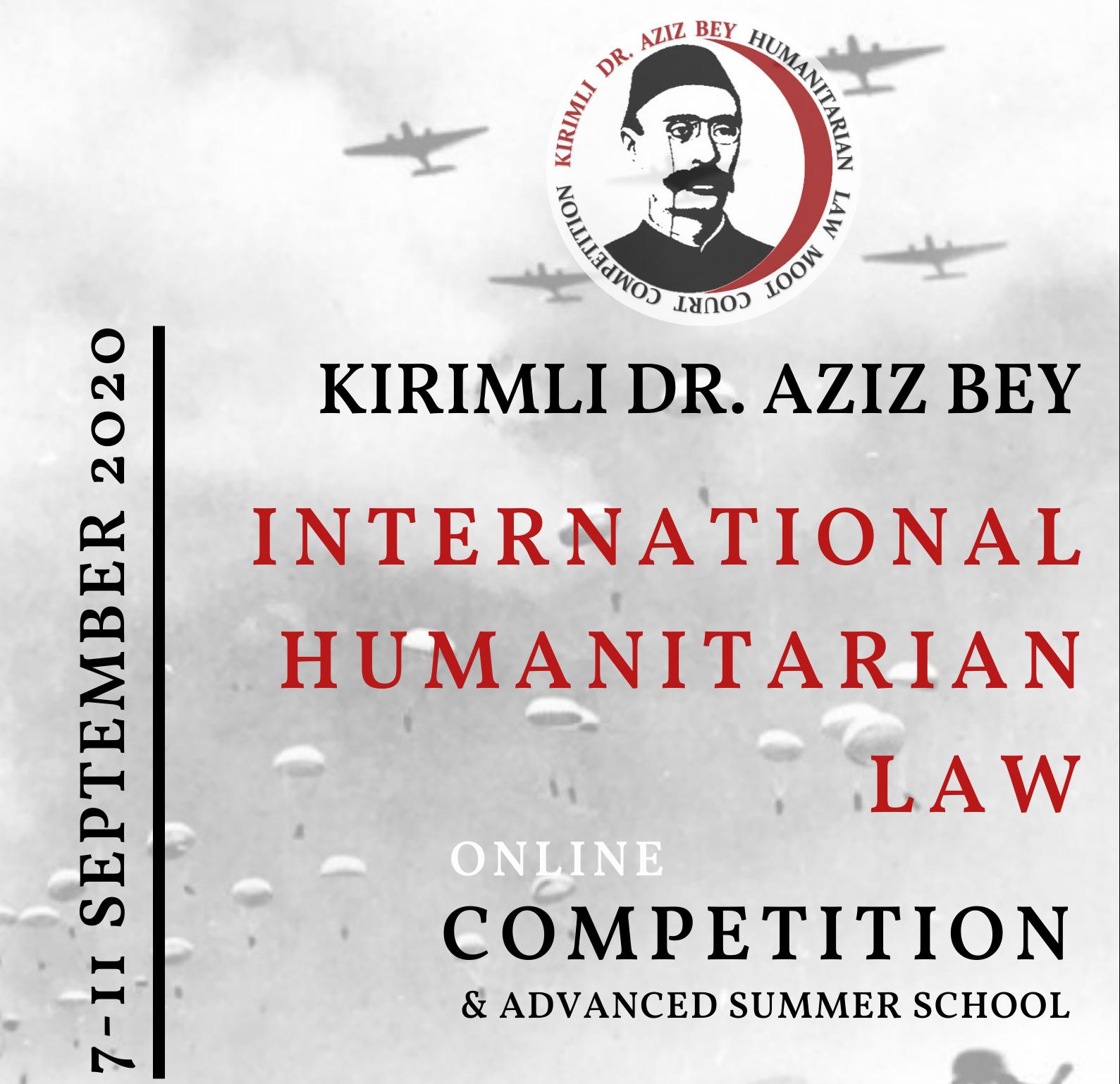 مدرسه تابستانه و مسابقات موتکورت حقوق بینالملل بشردوستانه (دکتر عزیز بِی)