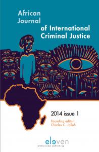 African Journal of International Criminal Justice