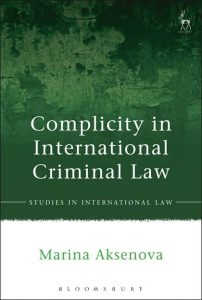 Complicity in International Criminal Law