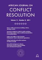 African Journal on Conflict Resoultion