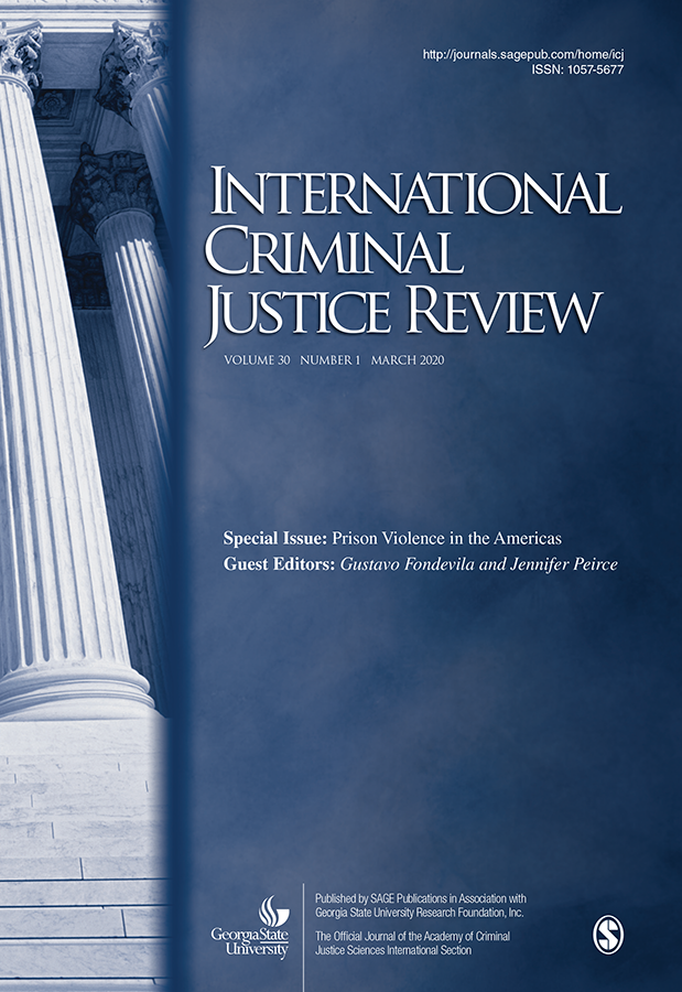 International Criminal Justice Review